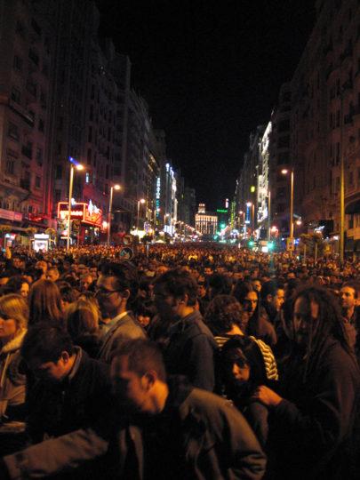 Gran Vía, San Isidro, Madrid