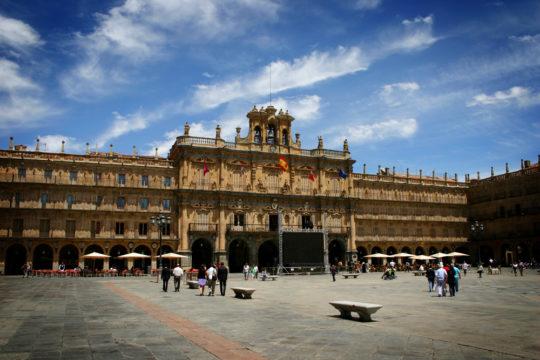 Salamanca's Plaza Mayor, Spain