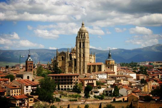 Overlooking Segovia.