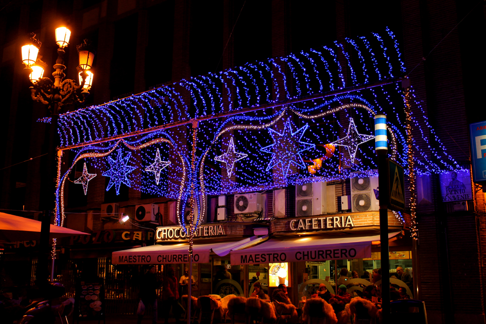 Christmas, Madrid, Spain