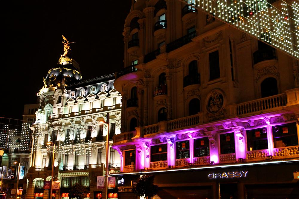 Gran Via, Madrid Christmas