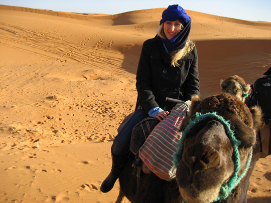 Heck, technically I didn't even pay to go to the Sahara. It doesn't take a millionaire.