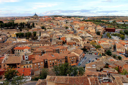 Toledo from above