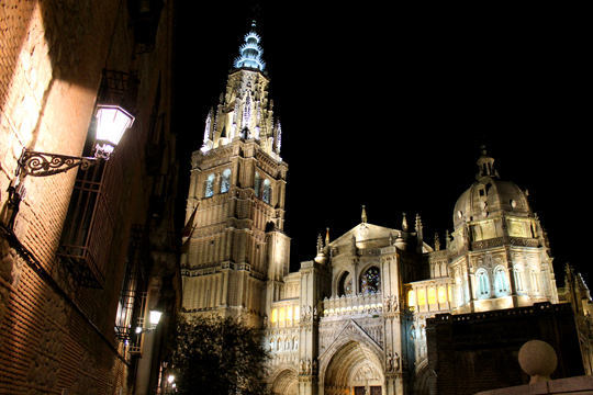 The Toledo Cathedral, dating back to 1226.