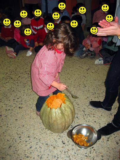 Pumpkin carving in Spain