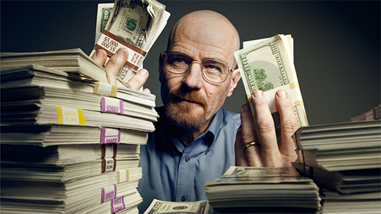 Walter White wonders if Lydia is wise in expanding the trade to Europe. If only he had this post.