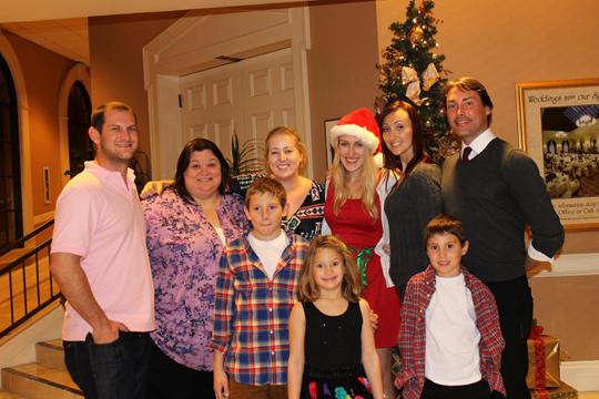Family Christmas, California