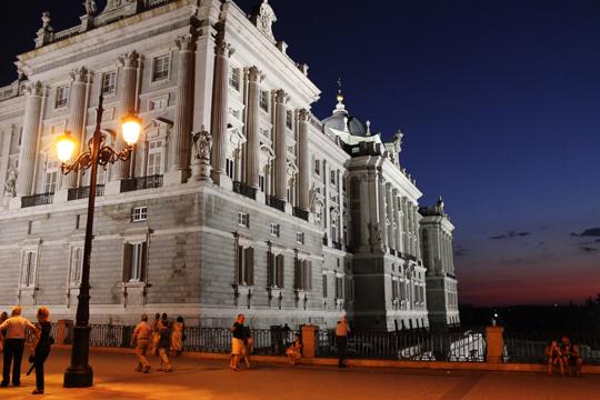 Royal Palace/Palacio Real, Madrid, Spain