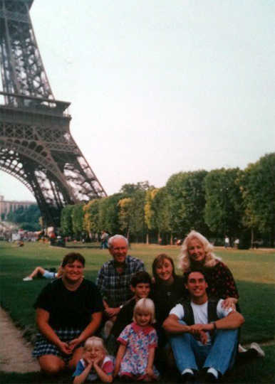 Paris family photo