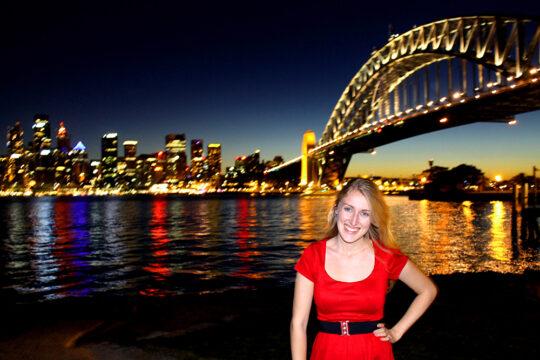 Sydney calls for an address change.