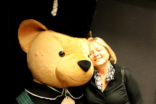 Harrods bear, London, England