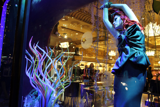 The Little Mermaid, Harrods, London, England