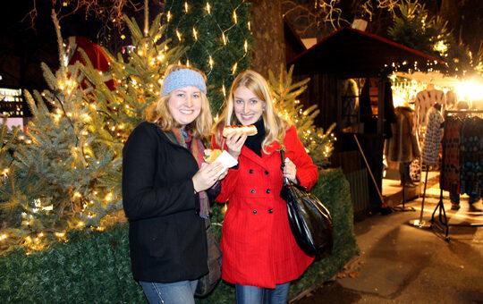 Hyde Park Christmas Market, London, England