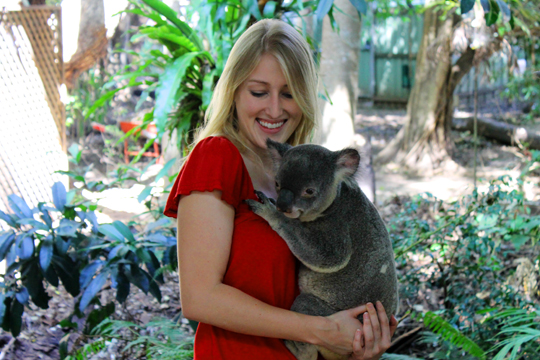Clearly, the government figured if a koala will let me hold him, I belong here.