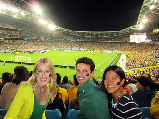 Australia vs. South Africa World Cup farewell friendly match