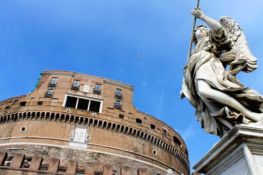 Rome, Italy arts - Castel Sant'Angelo
