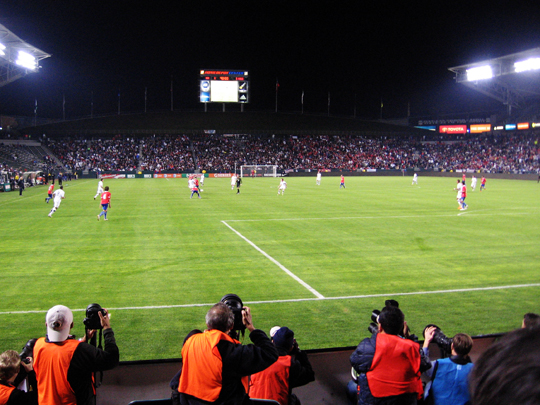 USA vs. Chile friendly match, Los Angeles