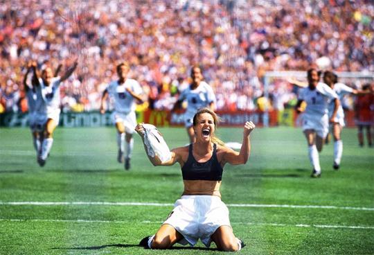 1999 Women's World Cup - Brandi Chastain