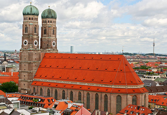 Frauenkirche Church, Munich, Germany