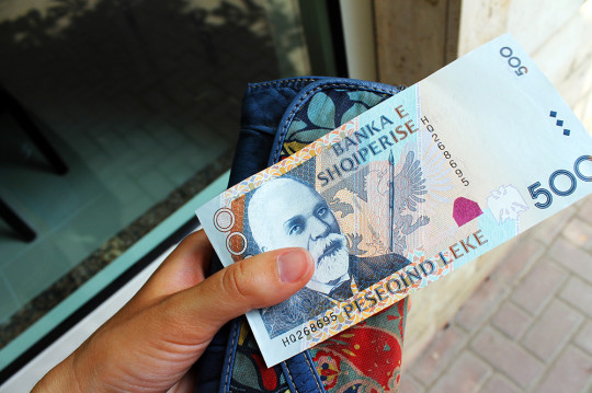 Saving mad cash! (Just, you know, not usually Albanian lek.)