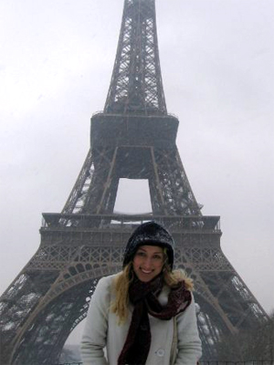 Snowy, foggy Paris may not be what you normally dream of, but we had a blast.
