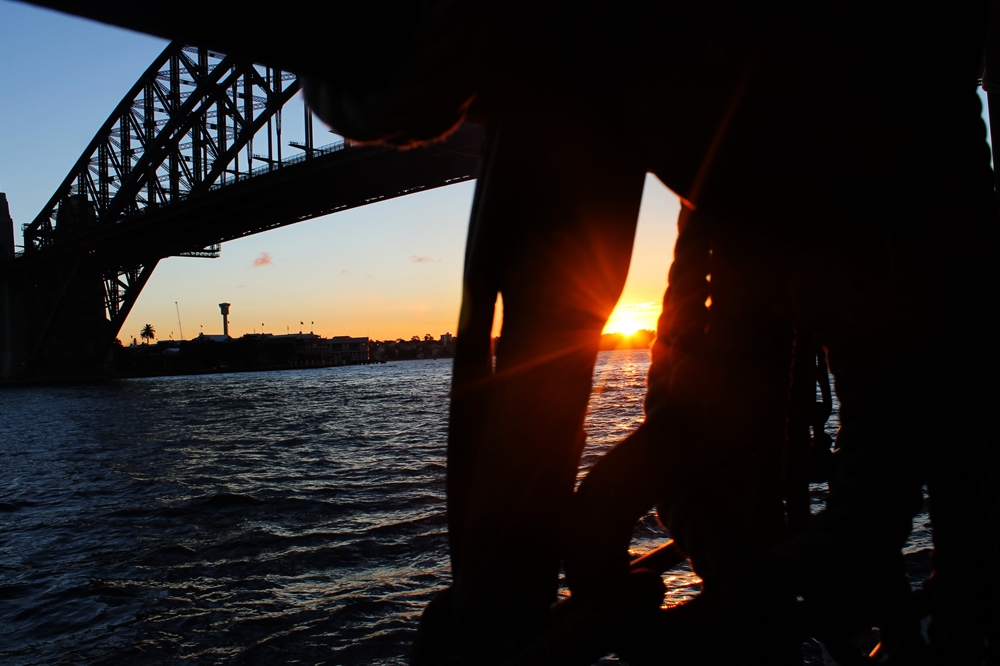 Sydney Harbour tall ship, Australia