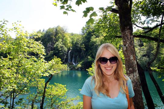 Plitvice, Croatia, in the summer between Spain and Australia