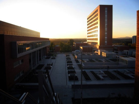 Universidad Complutense de Madrid, where I studied abroad