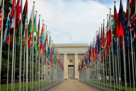 Think I can manage to learn all of these languages eventually? (At the UN Headquarters in Geneva last year)