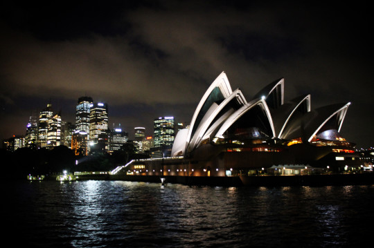 Sydney Harbour on a Hostelworld VIP cruise party
