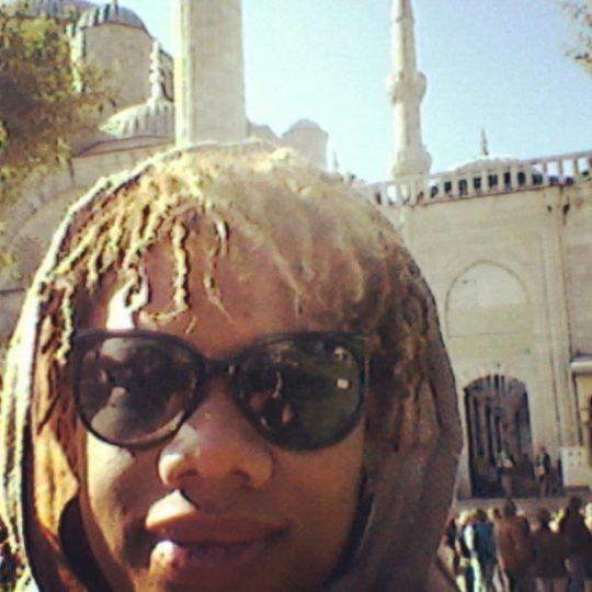 At Istanbul's Blue Mosque
