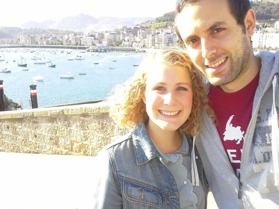Ashley and Borja in Castro Urdiales