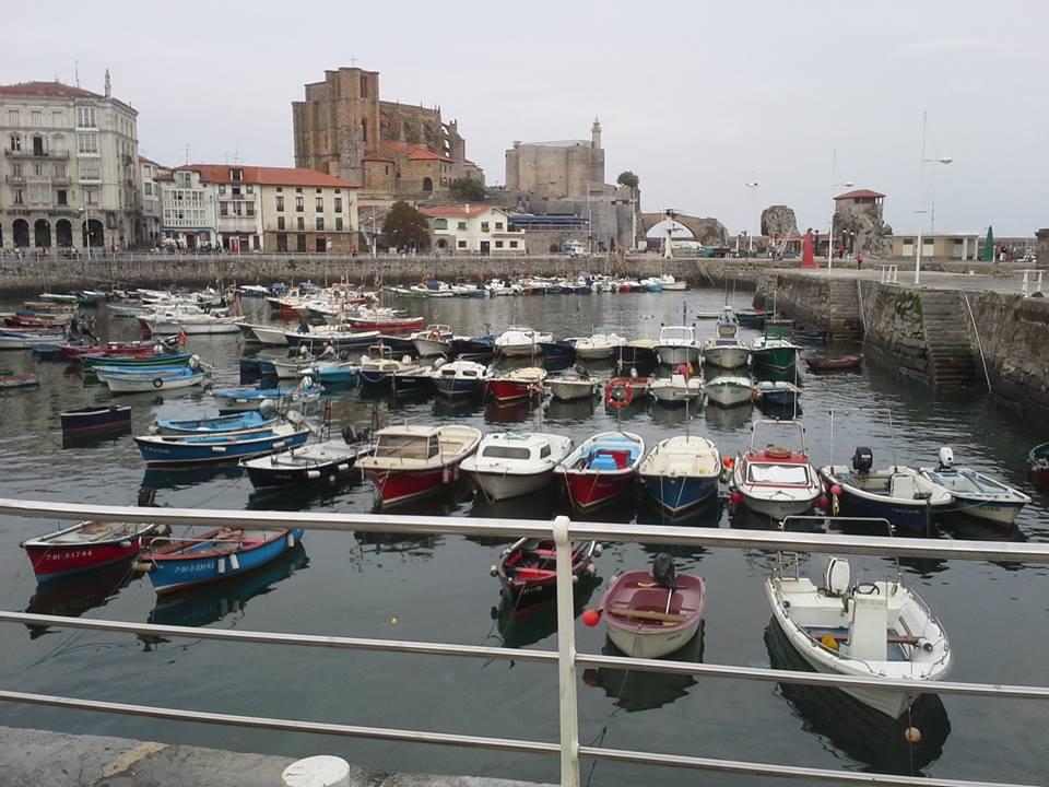 Castro Urdiales' port
