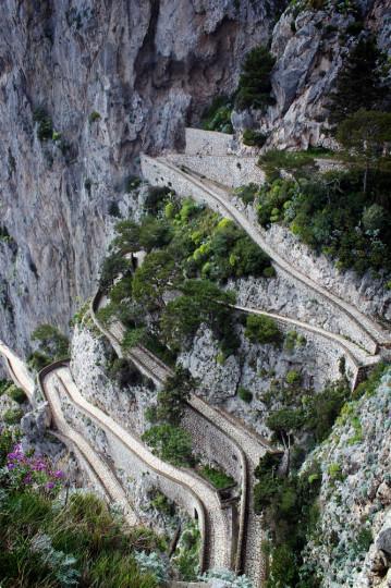 Via Krupp, Capri, Italy