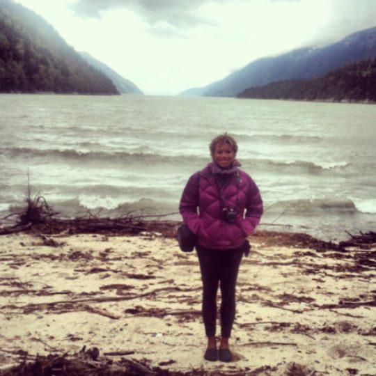 Chelcie in Alaska