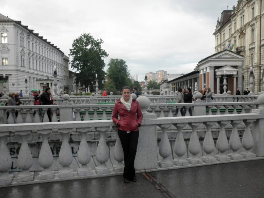 In Ljubljana, Slovenia
