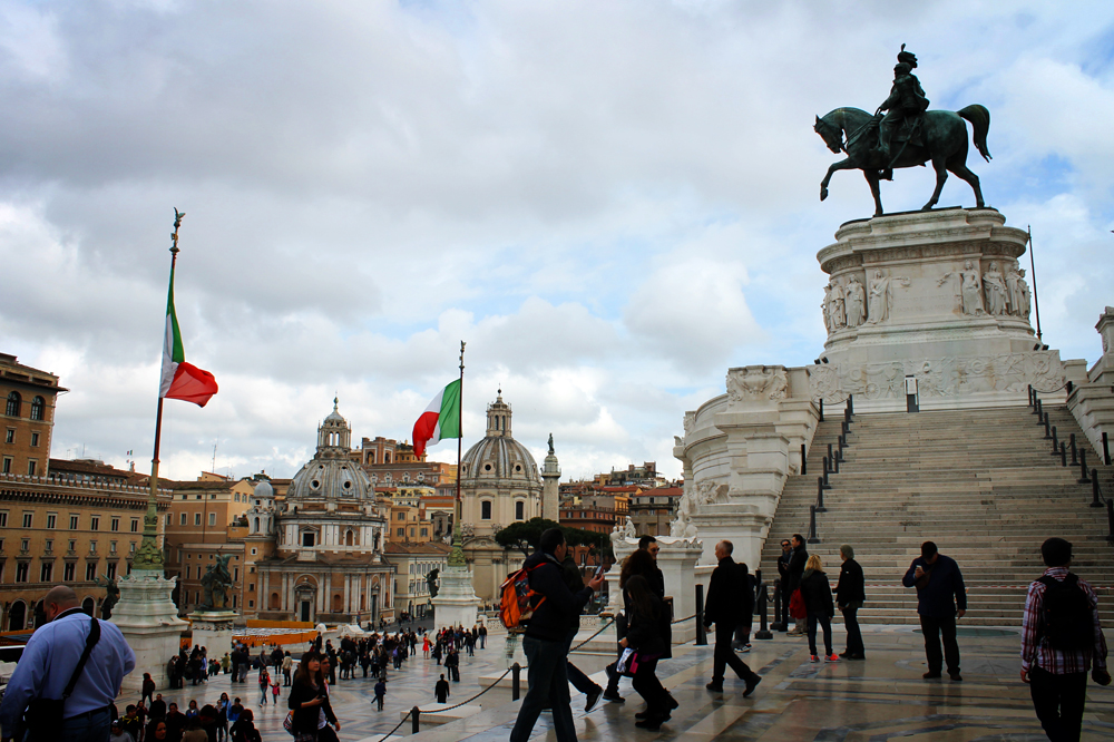 Vittorio Emanuele II monument, Rome, Italy