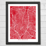 Giveaway! Win a Map Art Print of a City That Stole Your Heart
