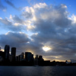 Racing through Sydney Harbour on a Jet Boat Thrill Ride