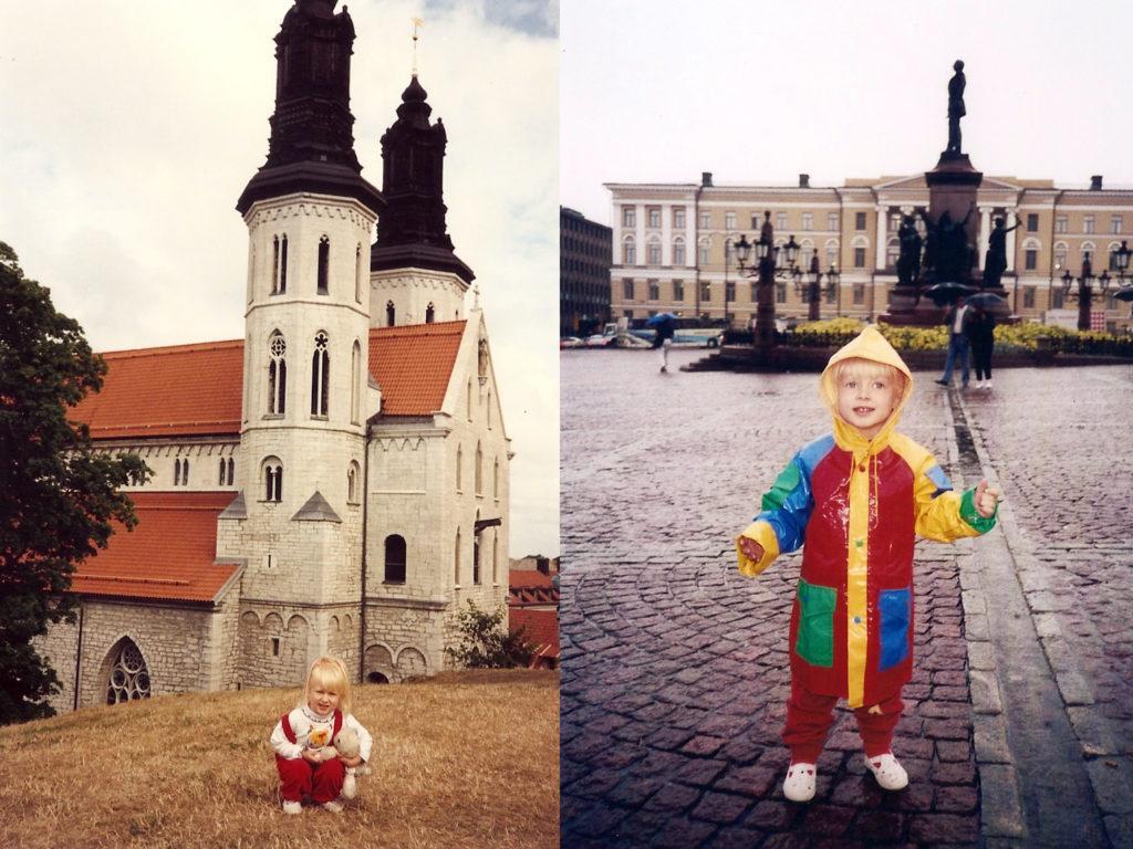 Visby, Sweden, Helsinki, Finland