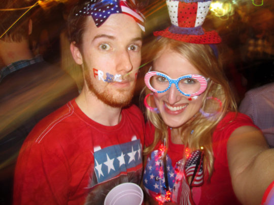 Fourth of July last year in Sydney. Bonus points for converting Australians?