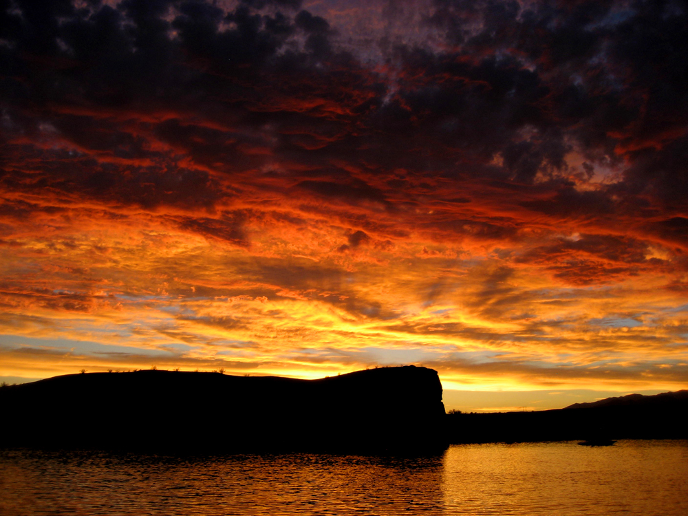 Colorado River Sunset, Parker, Arizona