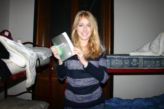 As excited as I was to purchase (and then subsequently pose with, because duh) a paper copy of one of my favorite books, Foucault's Pendulum, in Venice in 2010, Kindles are a gazillion times easier.