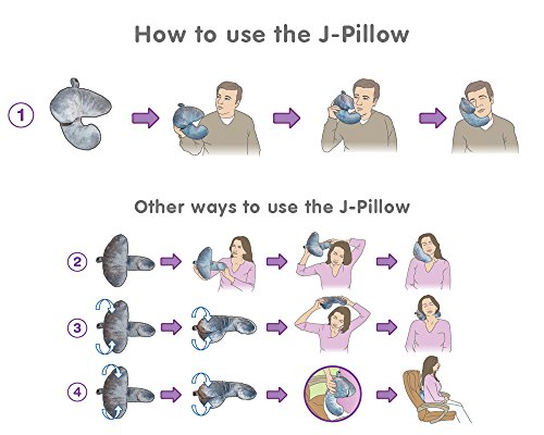 More photogenic pillow models demonstrating the various ways it can be used