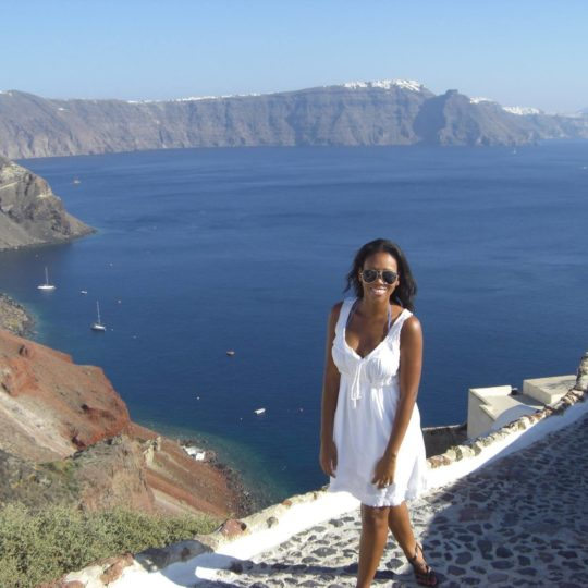 Mia in Santorini, Greece
