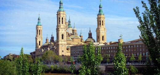 Basilica del Pilar, Zaragoza, Aragón, Spain