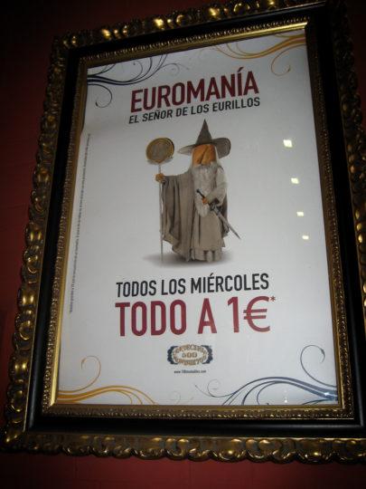 100 Montaditos Euromanía