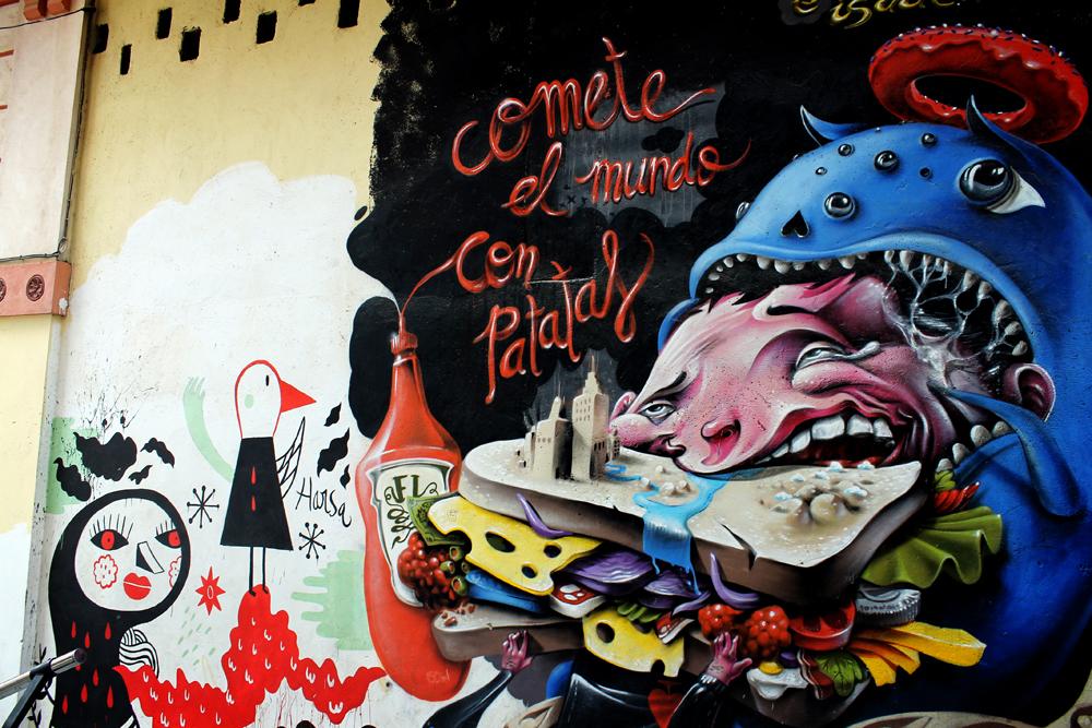 Huesca street art