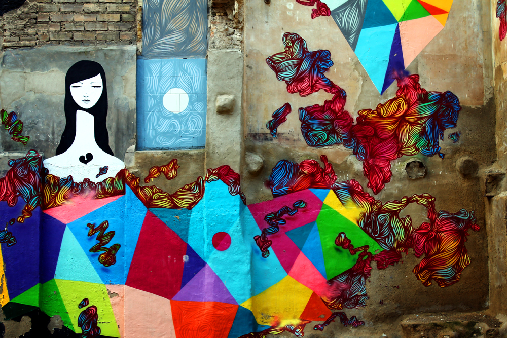 Zaragoza street art, Spain