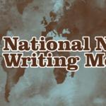 The 2015 NaNoWriMo Travel Blogging Challenge